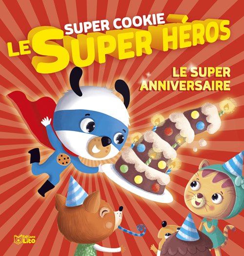 Le super anniversaire de Super Cookie
