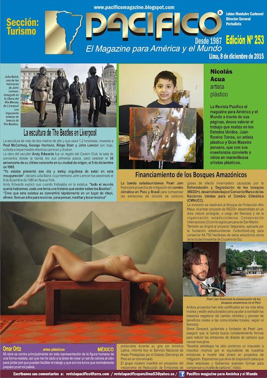 Revista Pacífico Nº 253 Turismo
