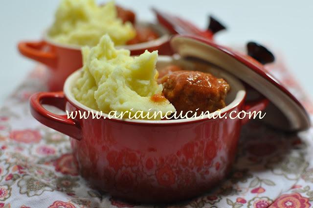 Blog di cucina di Aria: Polpette al sugo con il mio purè