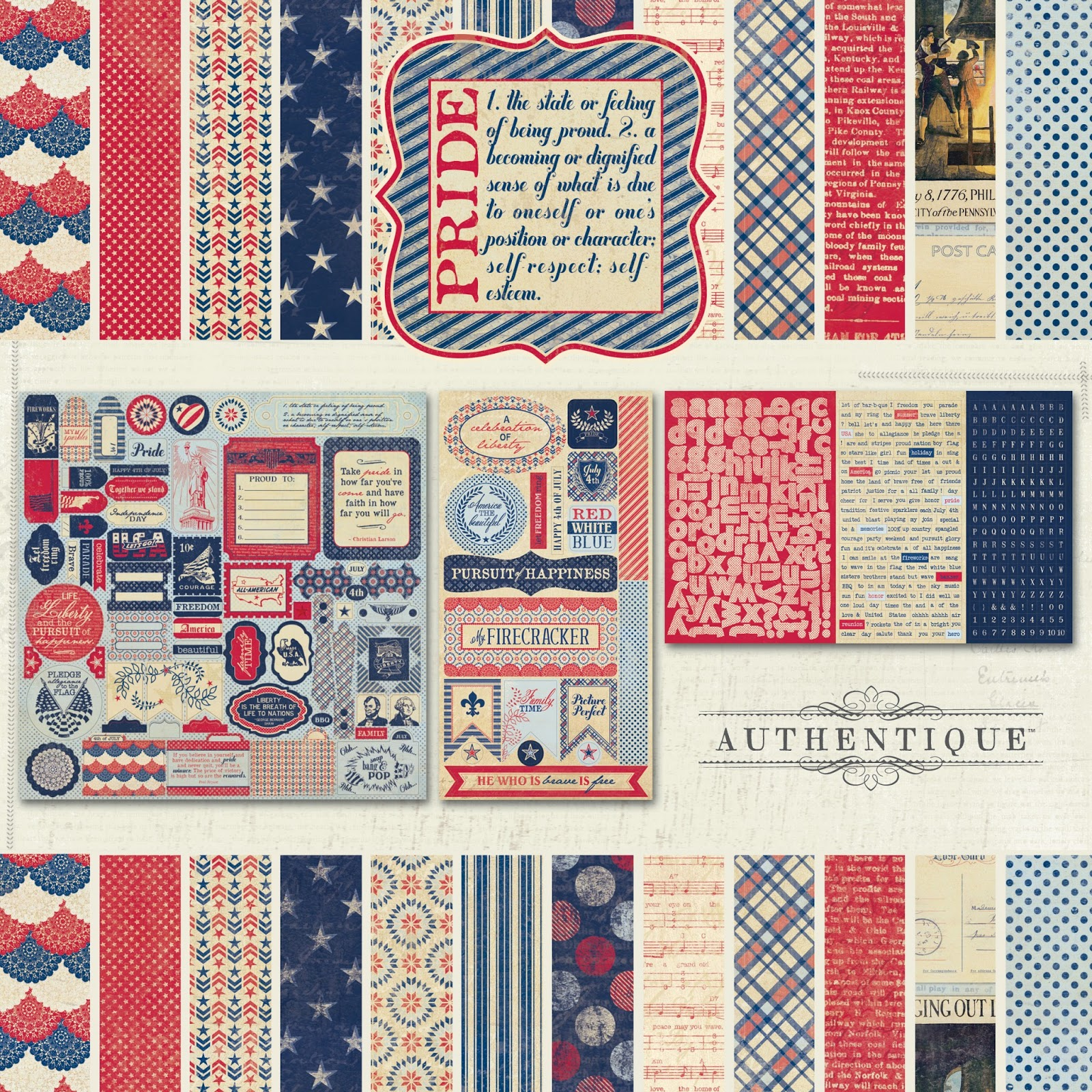 Scrapbook paper collections - Announcing Pride By Authentique Paper