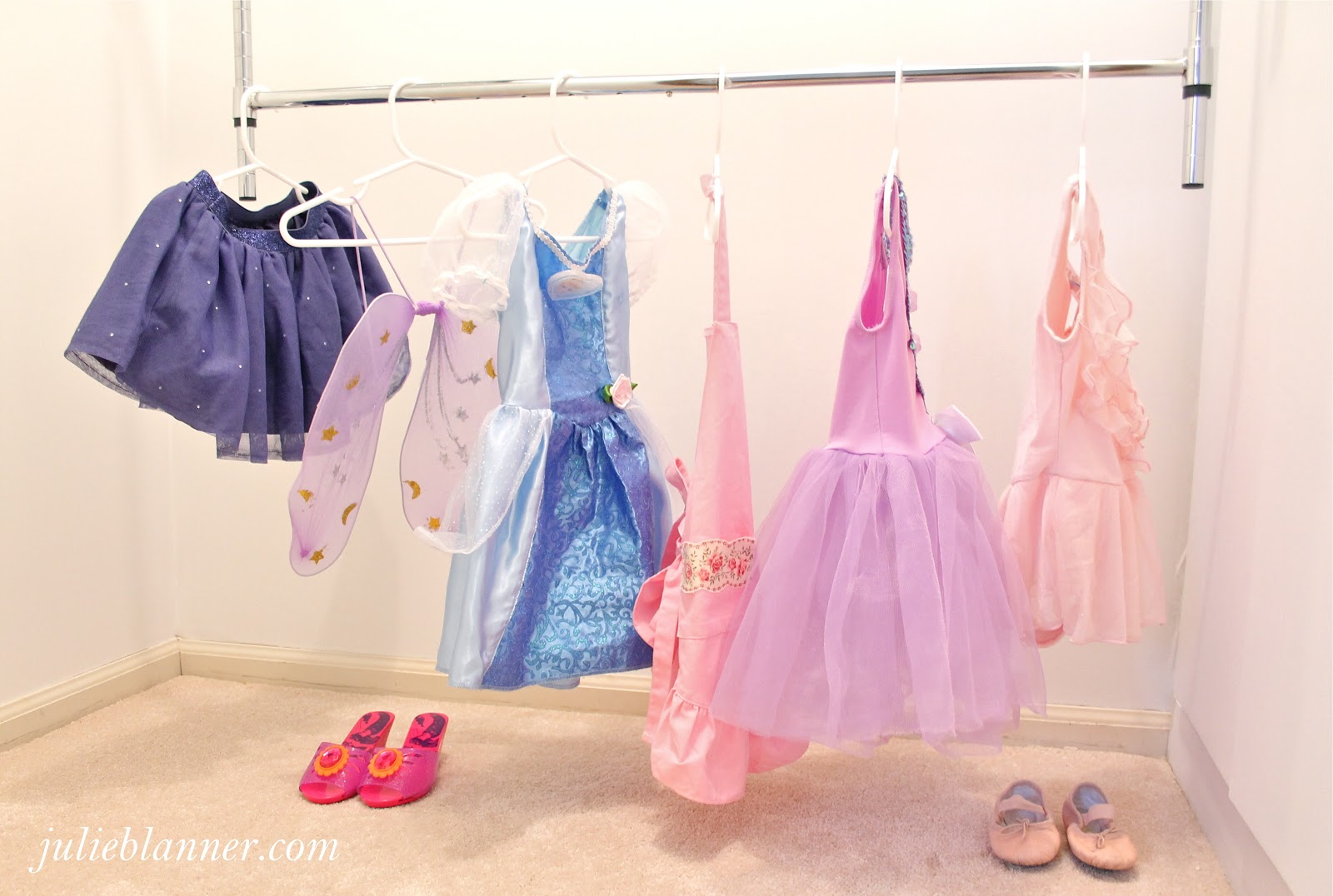 Diy Dress Up Storage Create Your Own Dress Up Closet Julie Blanner Entertaining