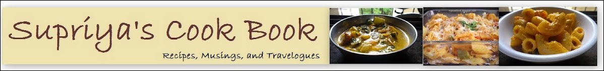 Supriya's Cook Book