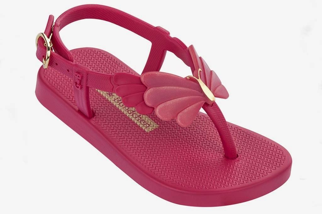 "Ipanema Gisele Bündchen Sandalen Baby  aus der Kollektion ""Butterfly"" in  pink"