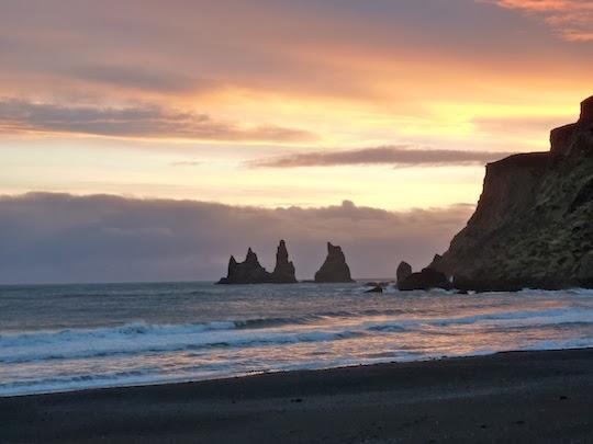 Black Sand Beach Iceland