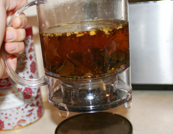 how to use teavana tea maker