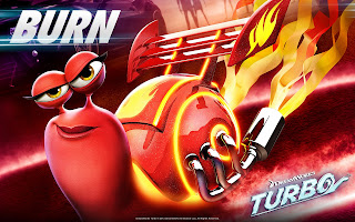 Turbo Movie Character Burn HD Wallpaper