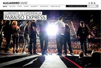 Web de Alejandro Sanz