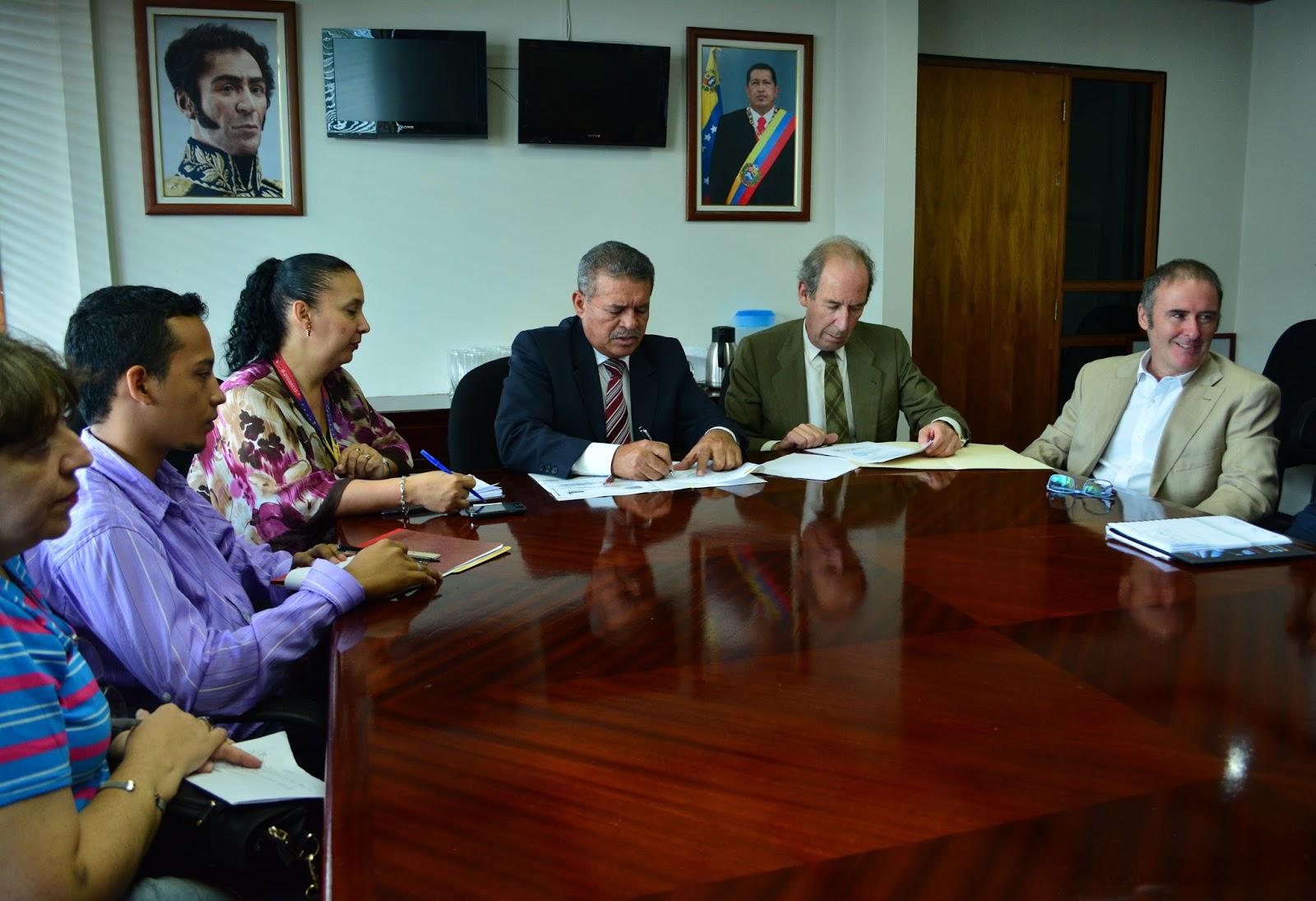 Venezuela y espa a suscriben convenios para la importaci n for Convenio oficinas madrid