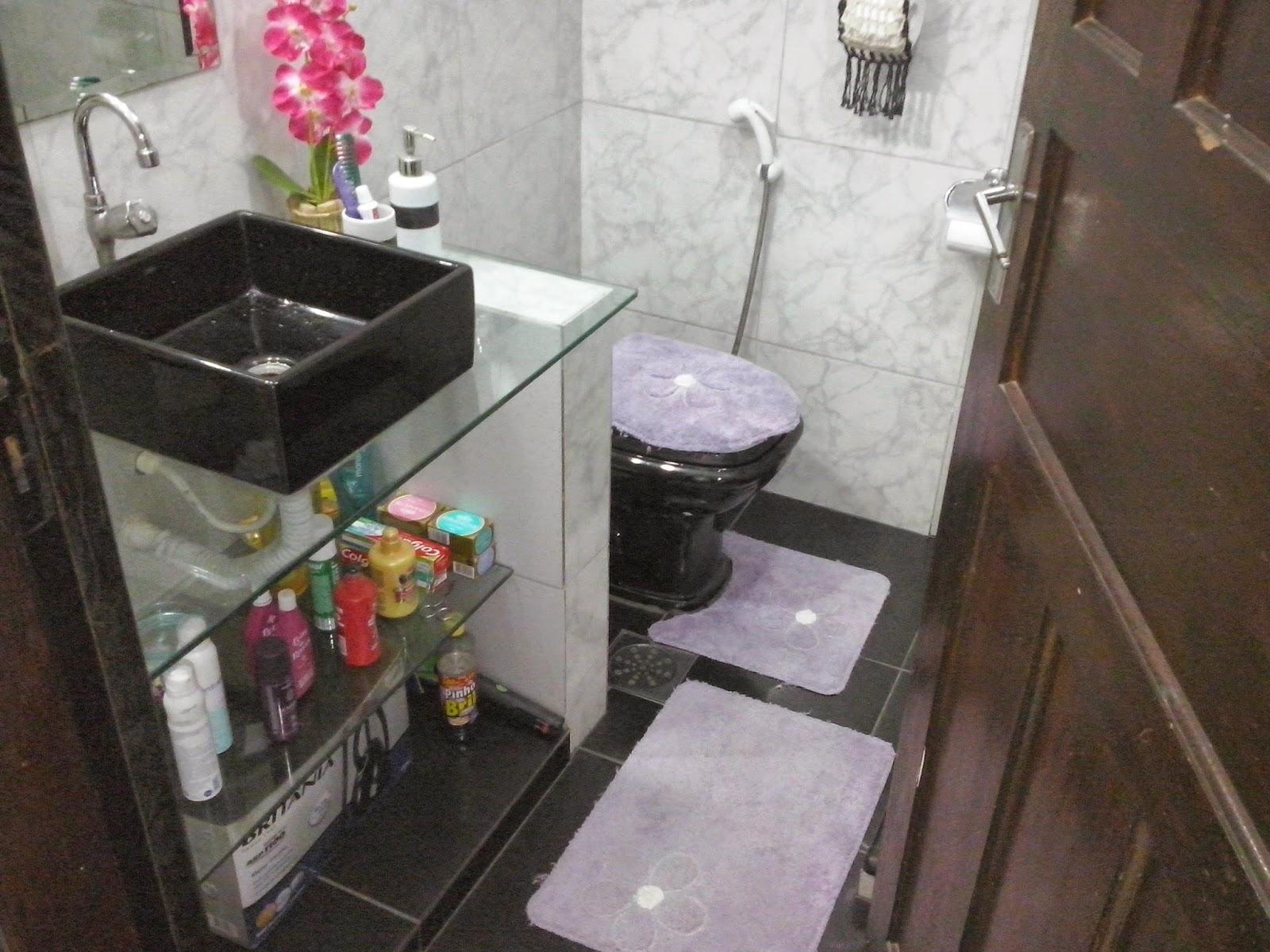 Imagens de #9E2D50  banheiro social com blindex e bancada cozinha área de serviço e 1600x1200 px 2886 Box Banheiro Ilha Do Governador
