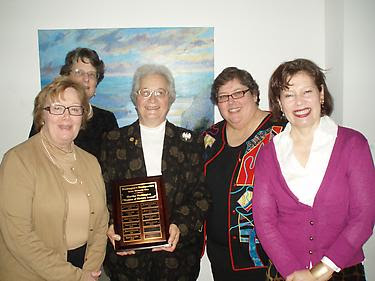 Stella Bailey Honored with Woman of History Award