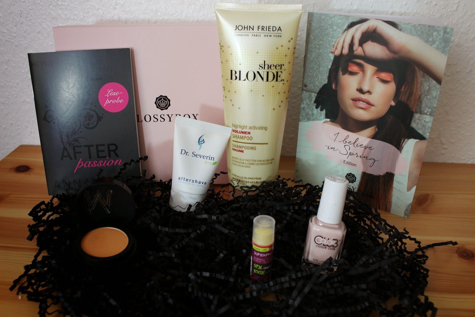 Glossybox i believe in spring edition