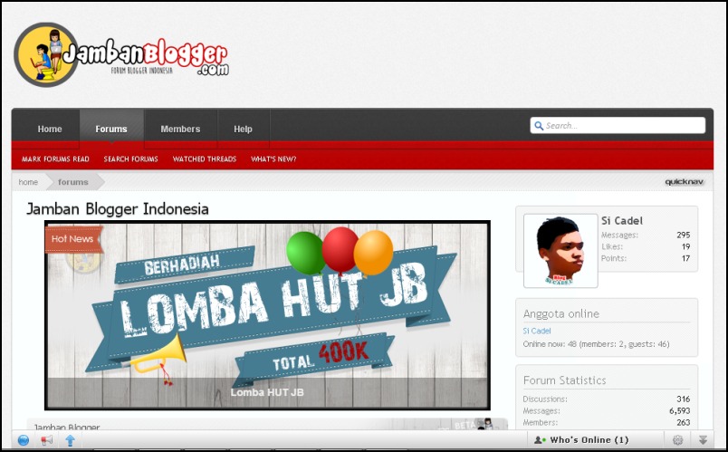 Jamban Blogger - Forum Blogger Indonesia