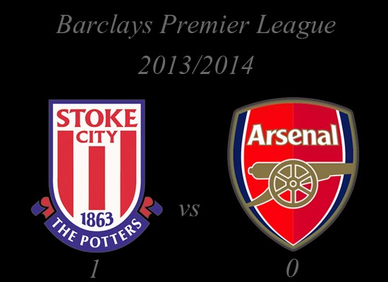 Stoke City vs Arsenal Barclays Premier League March 2014