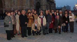 GRUPO AASC EN LEÓN.2010