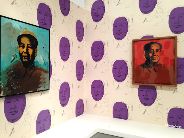 expo warhol unlimited serigraphie Mao papier peint, warhol musee art moderne paris palais Tokyo 2015