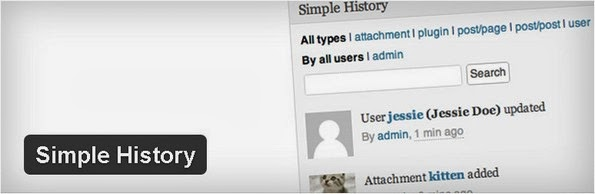 Simple History - Audit trail plugin for WordPress