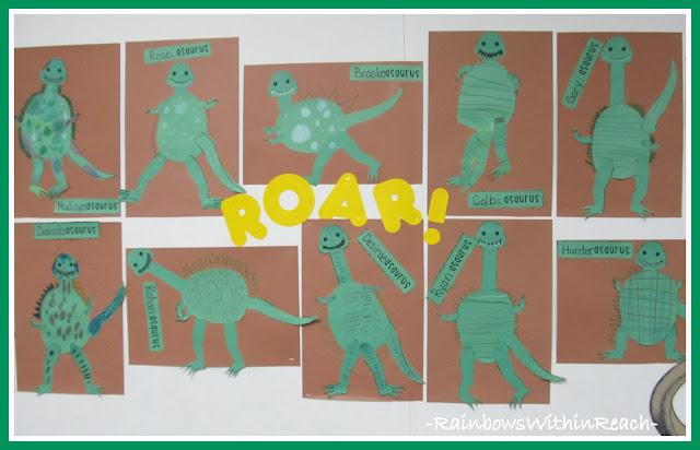 photo of: Bulletin Board Dinosaurs ROAR from Bulletin Board RoundUP