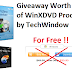 Giveaway Worth $360 of WinXDVD Products by TechWindow