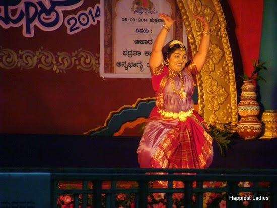 bharatnatyam performance ahara mela mysore 2