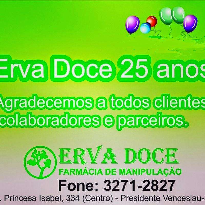 Erva Doce, 25 anos. Fone: 3271 2827