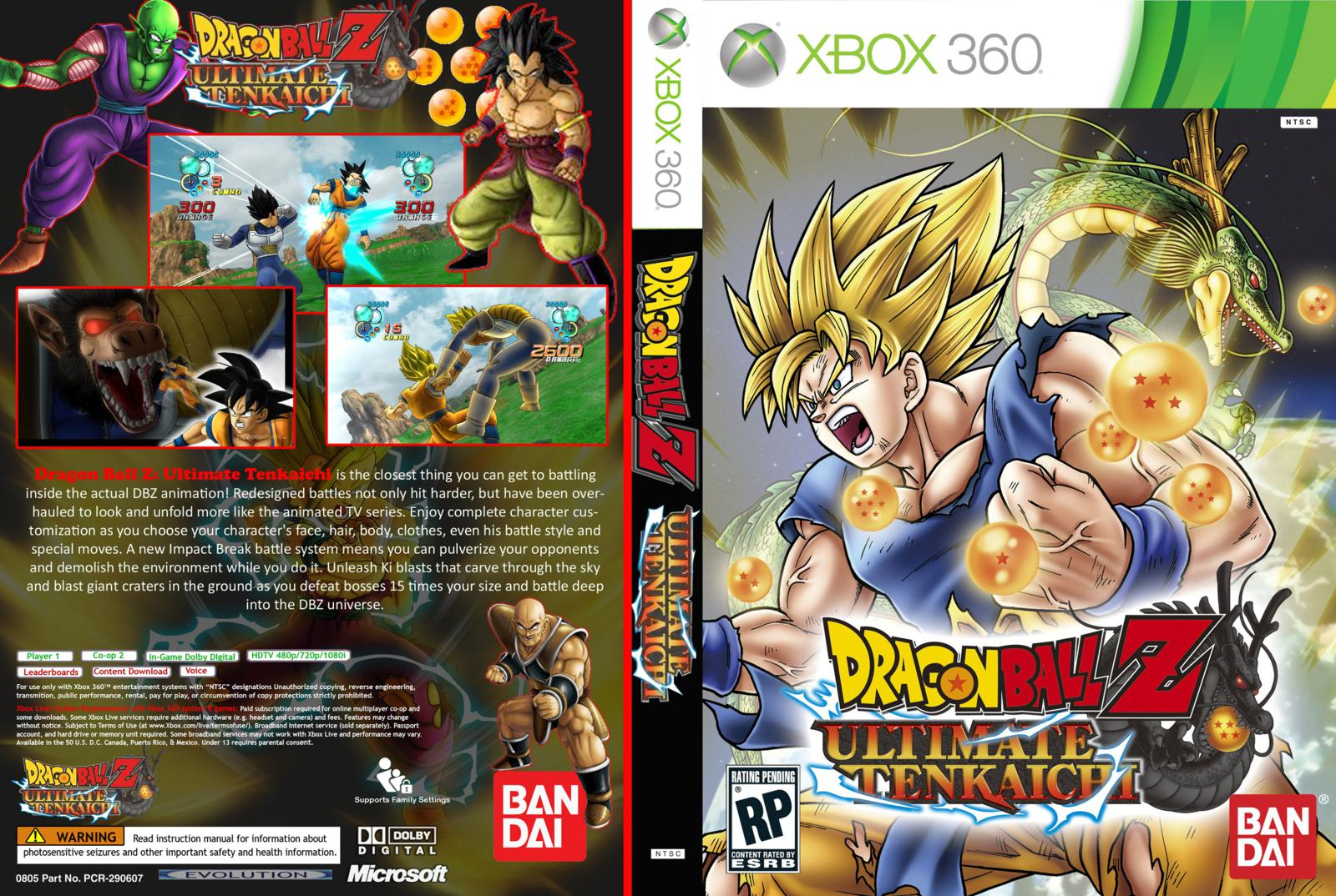 - Dragon Ball Z: Ultimate Tenkaichi - XBOX 360 - Orbit Dragon Ball