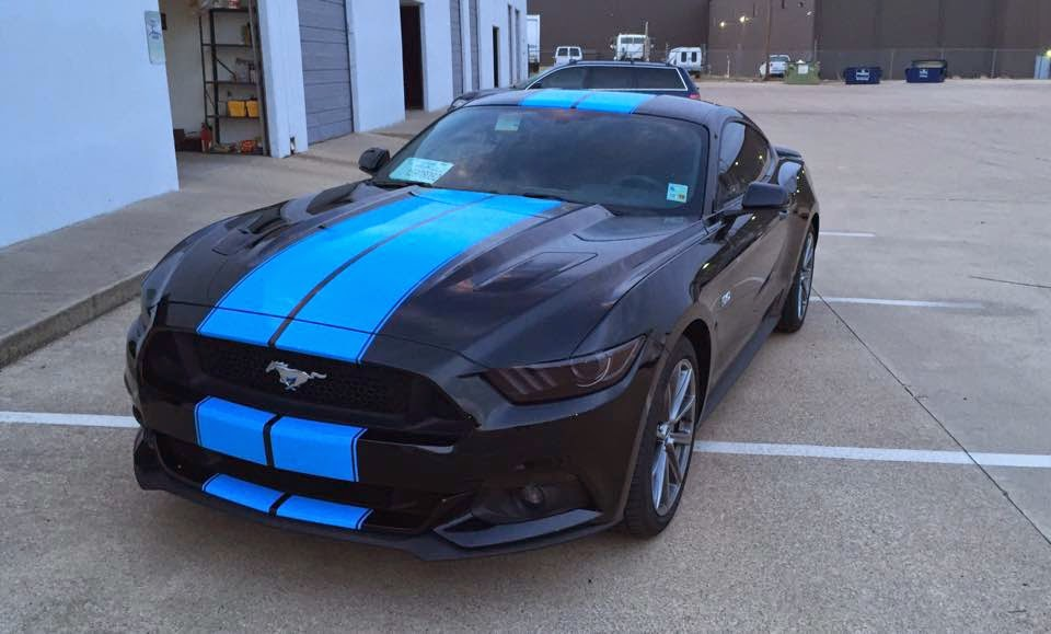 Welcome To Cars Lovers Place New Grabber Blue Lines On 2015 Ford