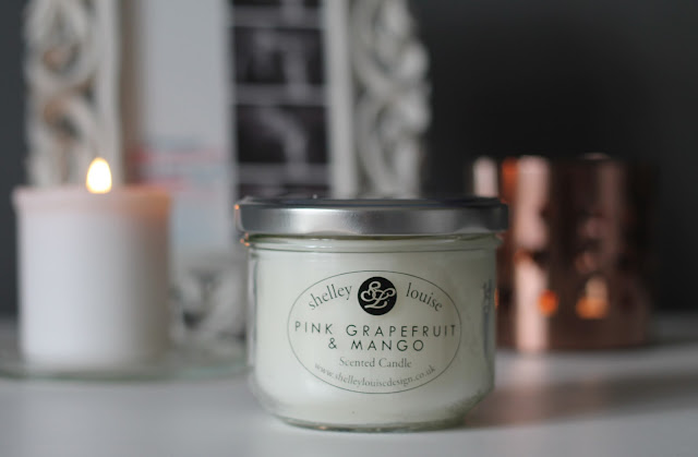 Shelley Louise Pink Grapefruit and Mango Candle Review