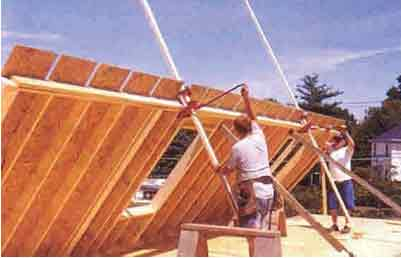 Sistema de paneles soportantes casas de madera apuntes ingenier a civil - Tabiques de madera ...