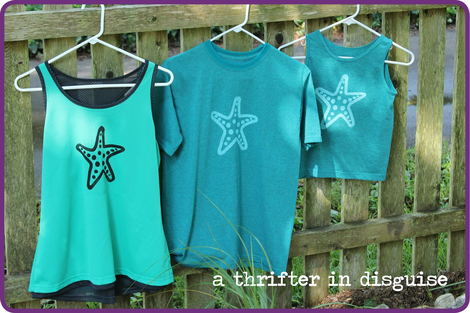 A thrifter in disguise diy screenprinted party t shirts for Diy custom t shirts