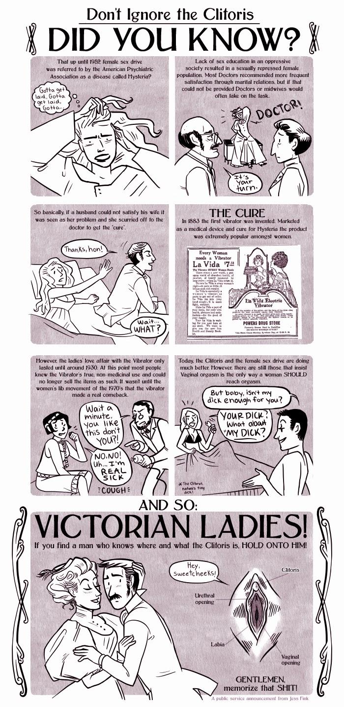 orgasmo femminile isteria vignetta
