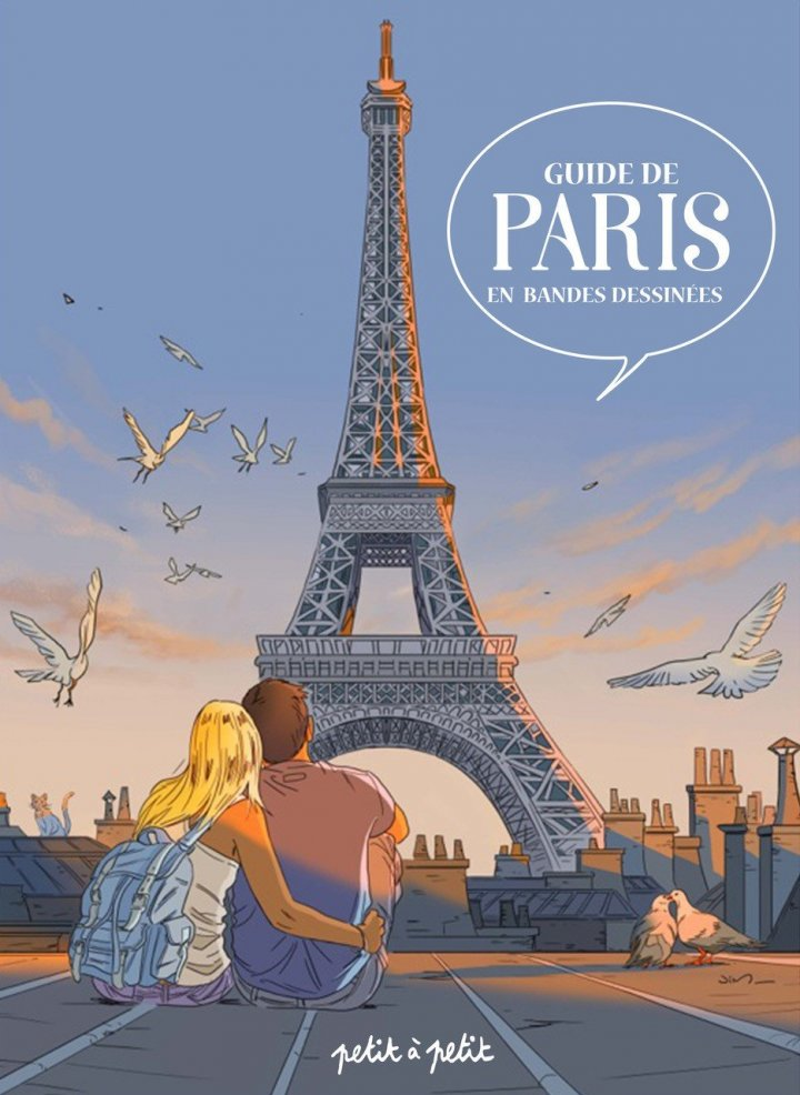 Guide de Paris en bande dessinée