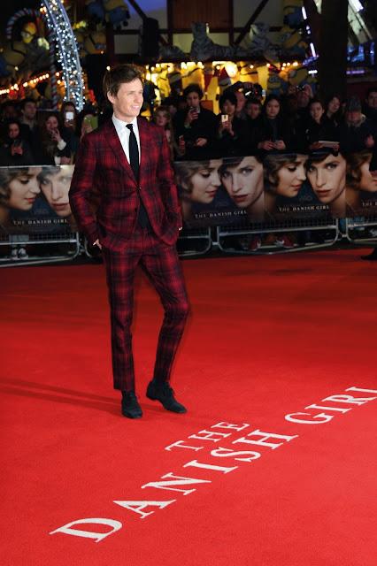 Eddie Redmayne Red Carpet