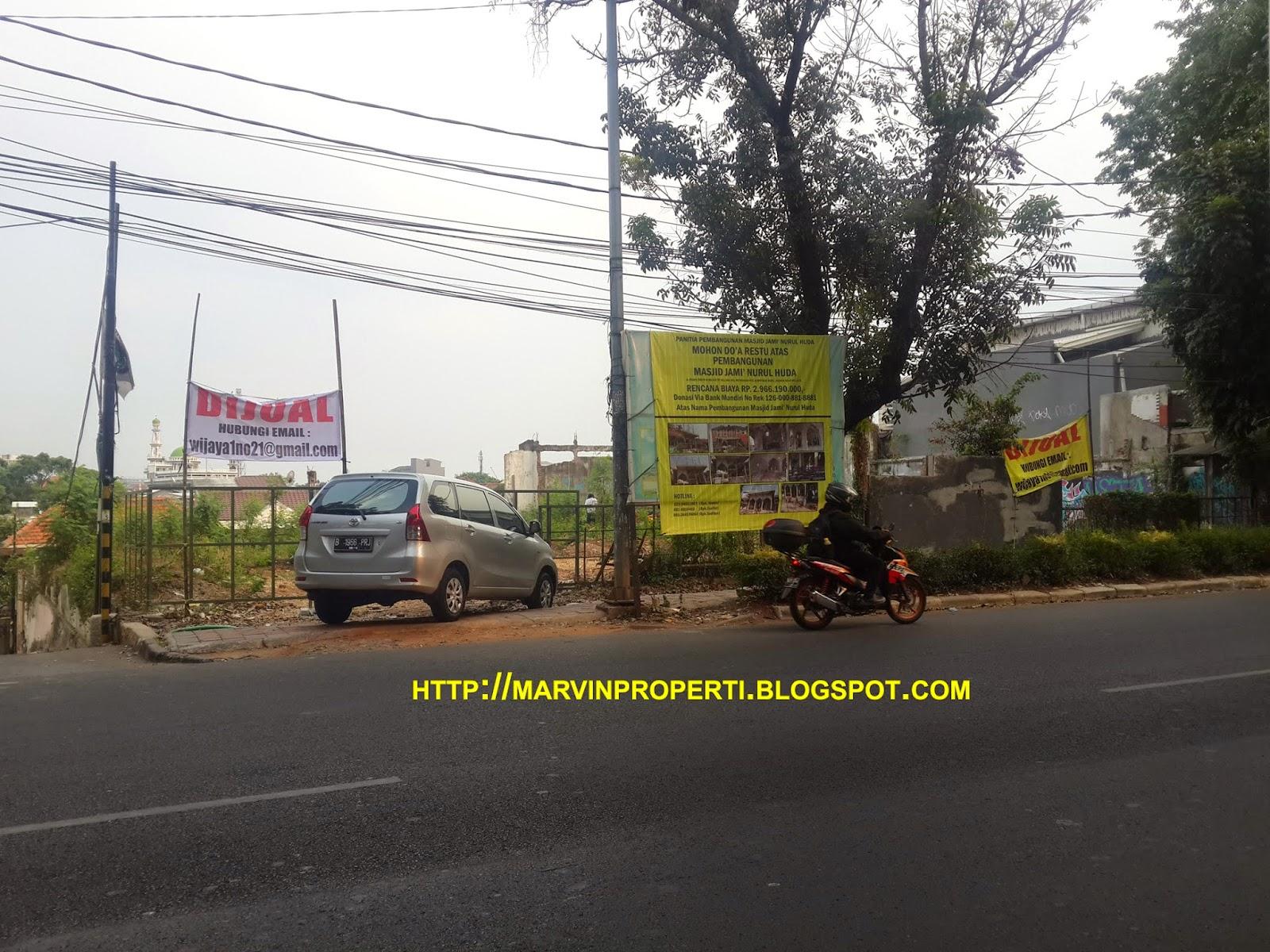 Tanah Dijual jalan wijaya 1 kebayoran baru jakarta selatan November 2014
