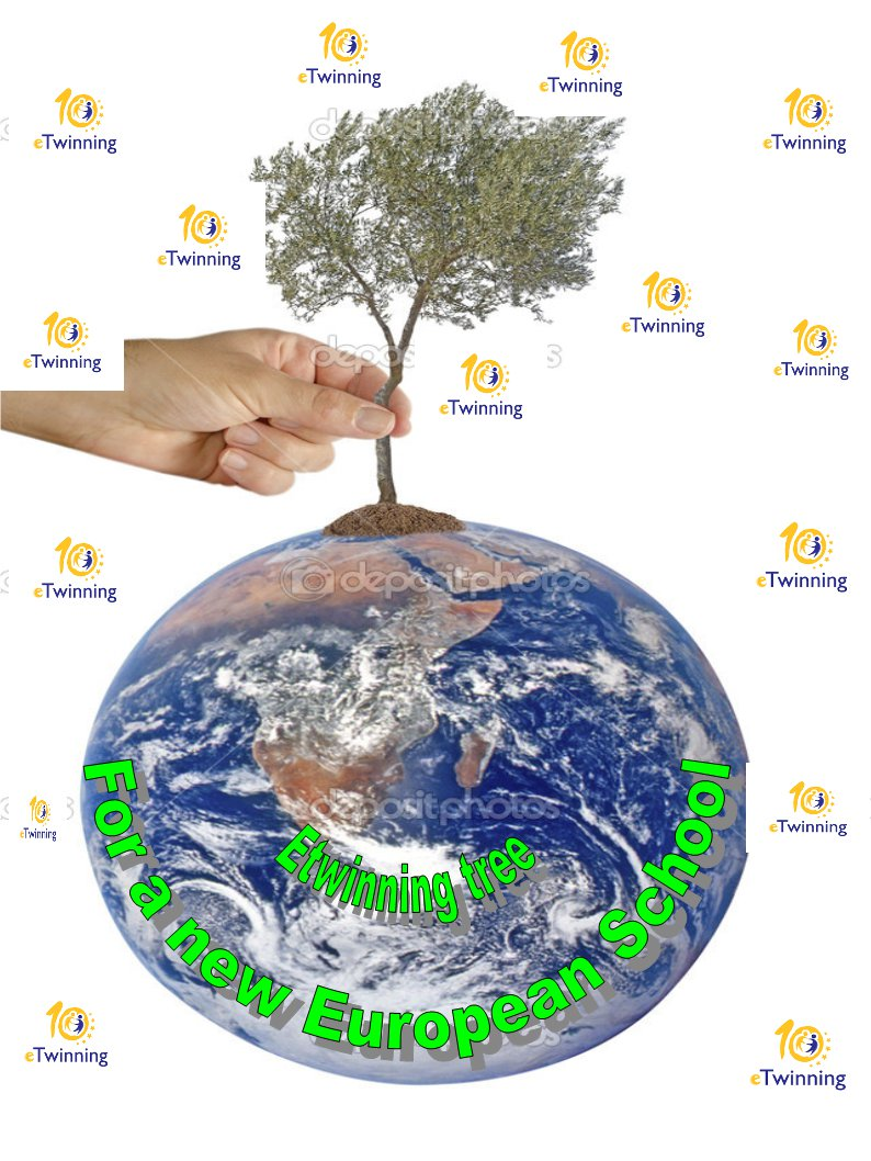 eTwinning tree - project 2015-2016
