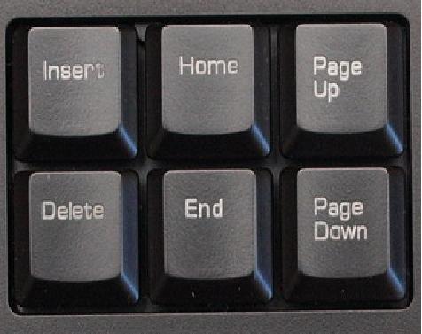 Где на клавиатуре находиться insert