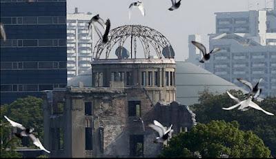¿Cuál es el sitio exacto donde explotó la bomba atómica en Hiroshima?