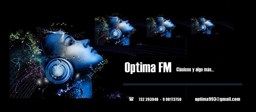 ÓPTIMA FM - actualidad musical