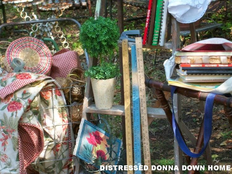 North charleston, Summerville, thrift stores, vintage finds, linens, baskets