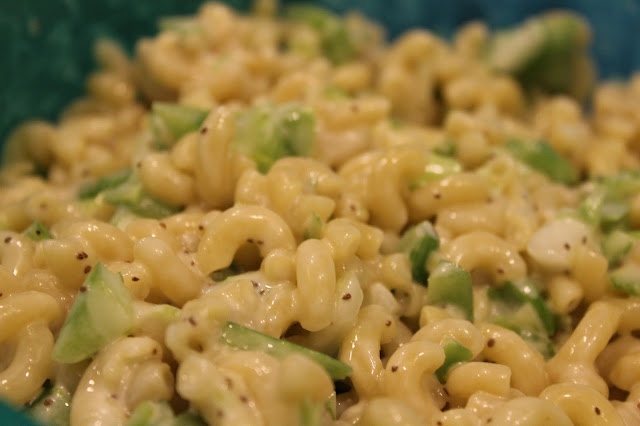 macaroni salad potluck easy recipe
