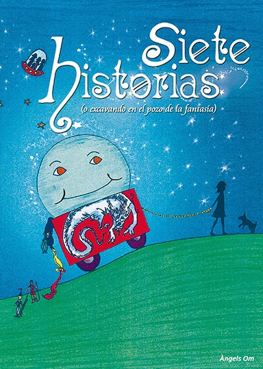 "Portada del libro ""Siete historias"", de Àngels Om"