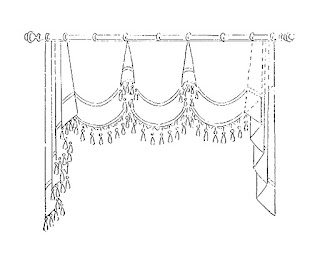 digital curtain image