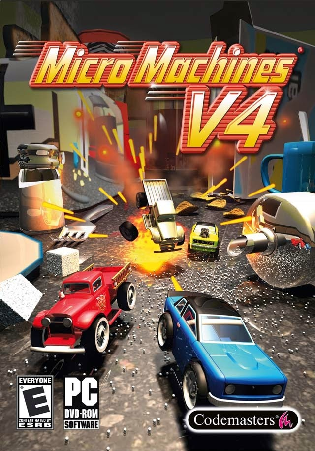 Micro Machines v4 Game