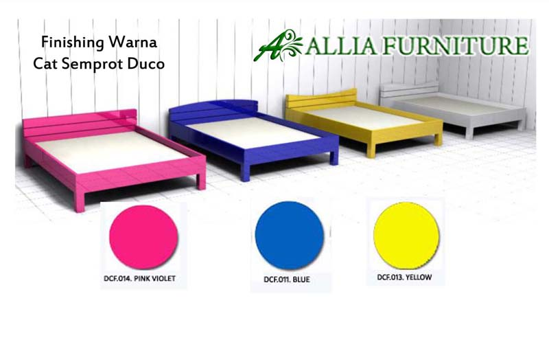 Contoh Furniture Finishing Cat Duco Warna