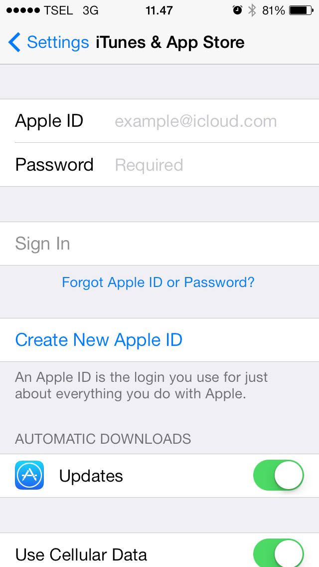how to change apple id on ipod 4