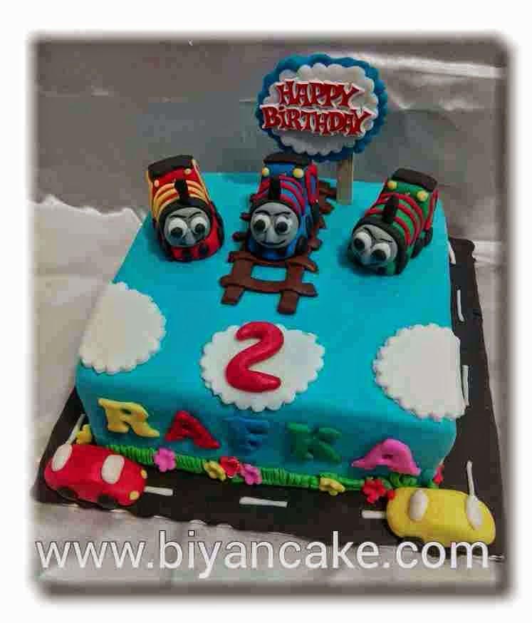 cake kereta thomas ~ Rafka
