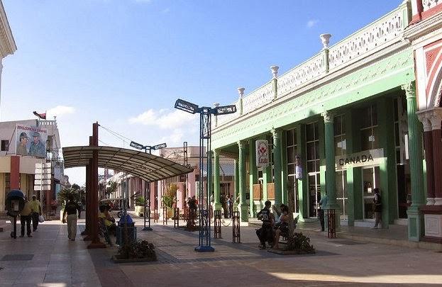 Town square in Ciego de Avila, Cuba