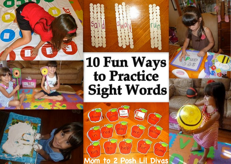 to sight ways 10 practice practice activities home fun to words sight at word
