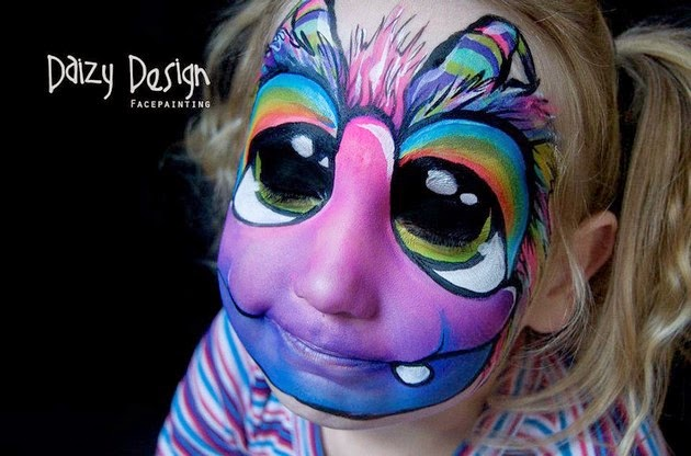 face painting artist, face decorations-1
