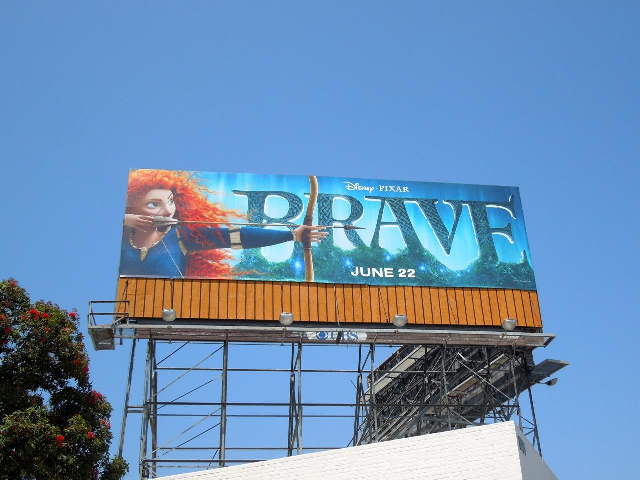 Daily Billboard Giant Brave Movie Billboards
