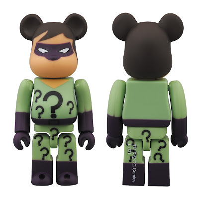 San Diego Comic-Con 2013 Exclusive The Riddler DC Universe 100% Be@rbrick by Medicom